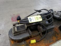 Rockwell portable band saw model 725 extra heavy duty.