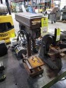 Central Machinery table top drill press.