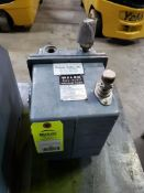 Welch Duo-Seal vacuum pump. Model 1402.