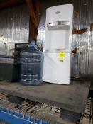 Water cooler and dehumidifier.