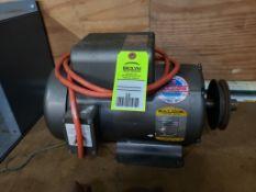 5hp Baldor motor. Catalog L3608T, 230v single phase, 3450rpm, 184T frame.