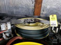 Pnuematic hose reel.