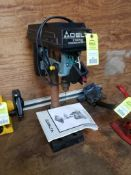 """Delta 8"""" table top drill press. Model 11-950. 110v single phase. Switch housing cracked."""