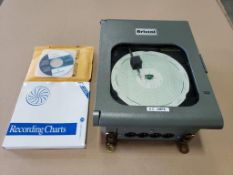 Qty 2 - Emerson Controls Bristol AC Amp chart recorder. Part number 410887B02. New in box.