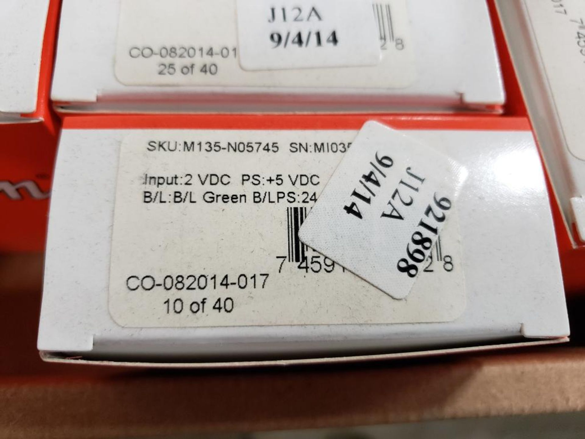 Qty 24 - Simpson gauge model CO-082014-014. New in box. - Image 3 of 3