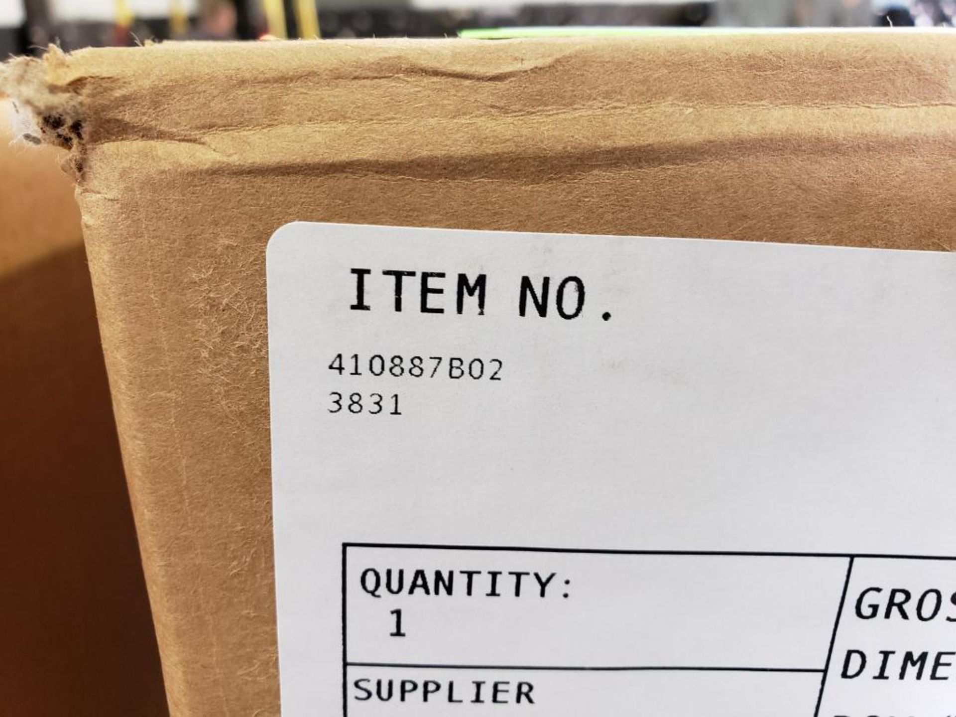 Qty 2 - Emerson Controls Bristol AC Amp chart recorder. Part number 410887B02. New in box. - Image 4 of 5