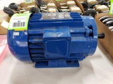 1.5hp Elektrim high efficiency motor. 230/460v 3 phase. 145TC frame. New.