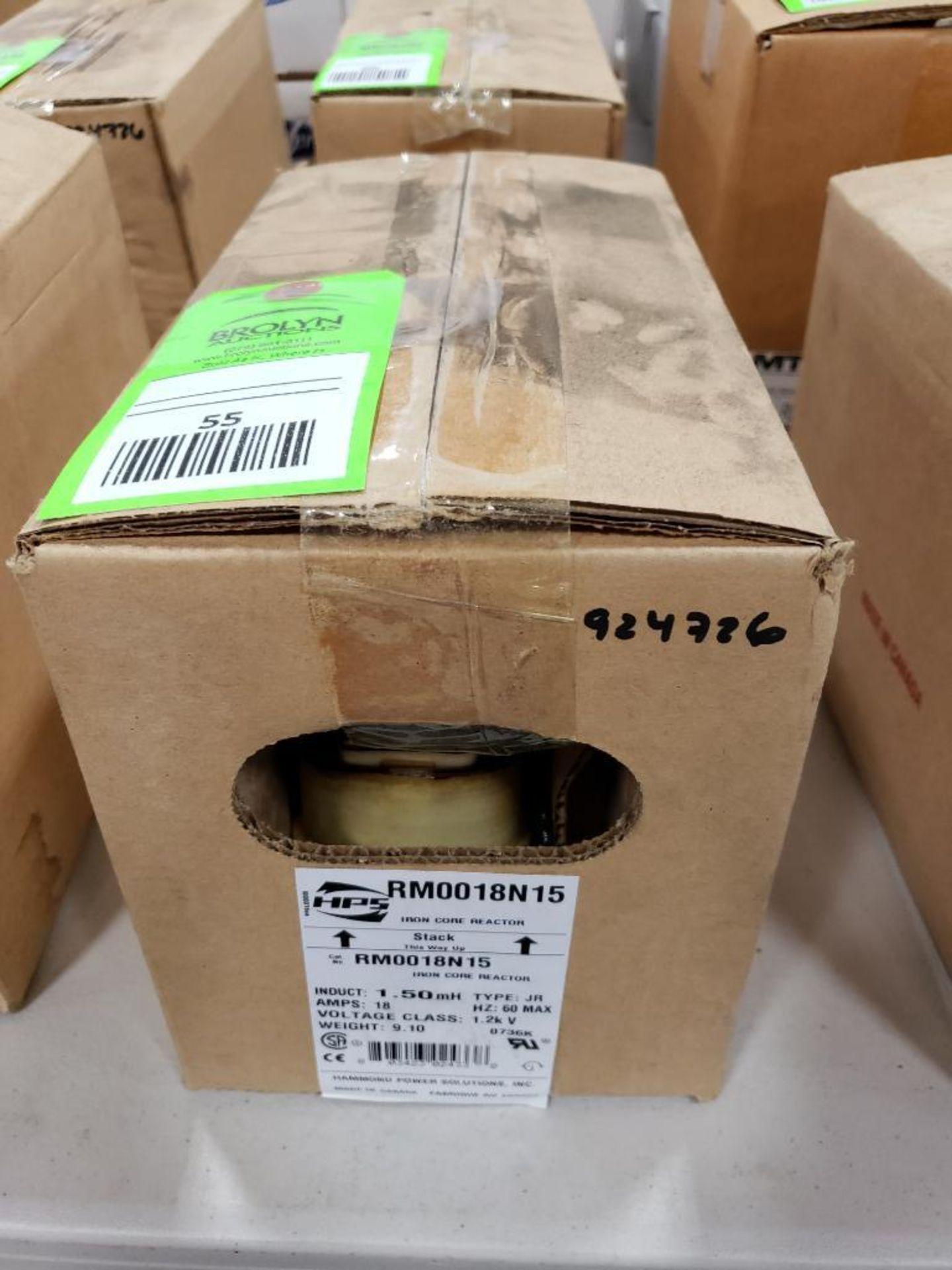 Hammond HPS iron core line reactor. Model RM0018N15. New in box.