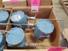 Qty 3 - Rosemount sensors. Model 444RL2U1A1NA.