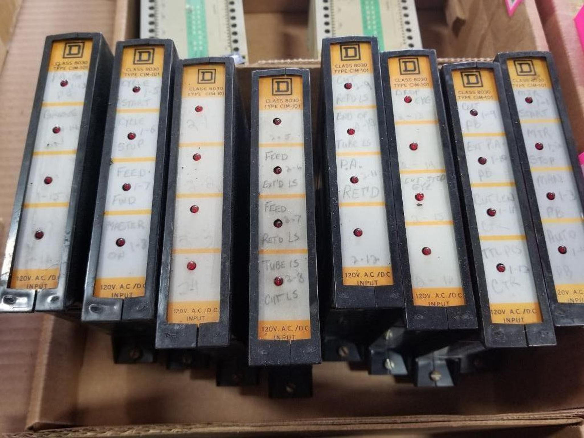 Assorted Square D Sy/Max modules. - Image 3 of 3