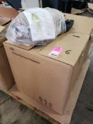 Qty 6 - Tychem coverall garment. Size Small. Part number C3198TTNMD0006WG. New in package.