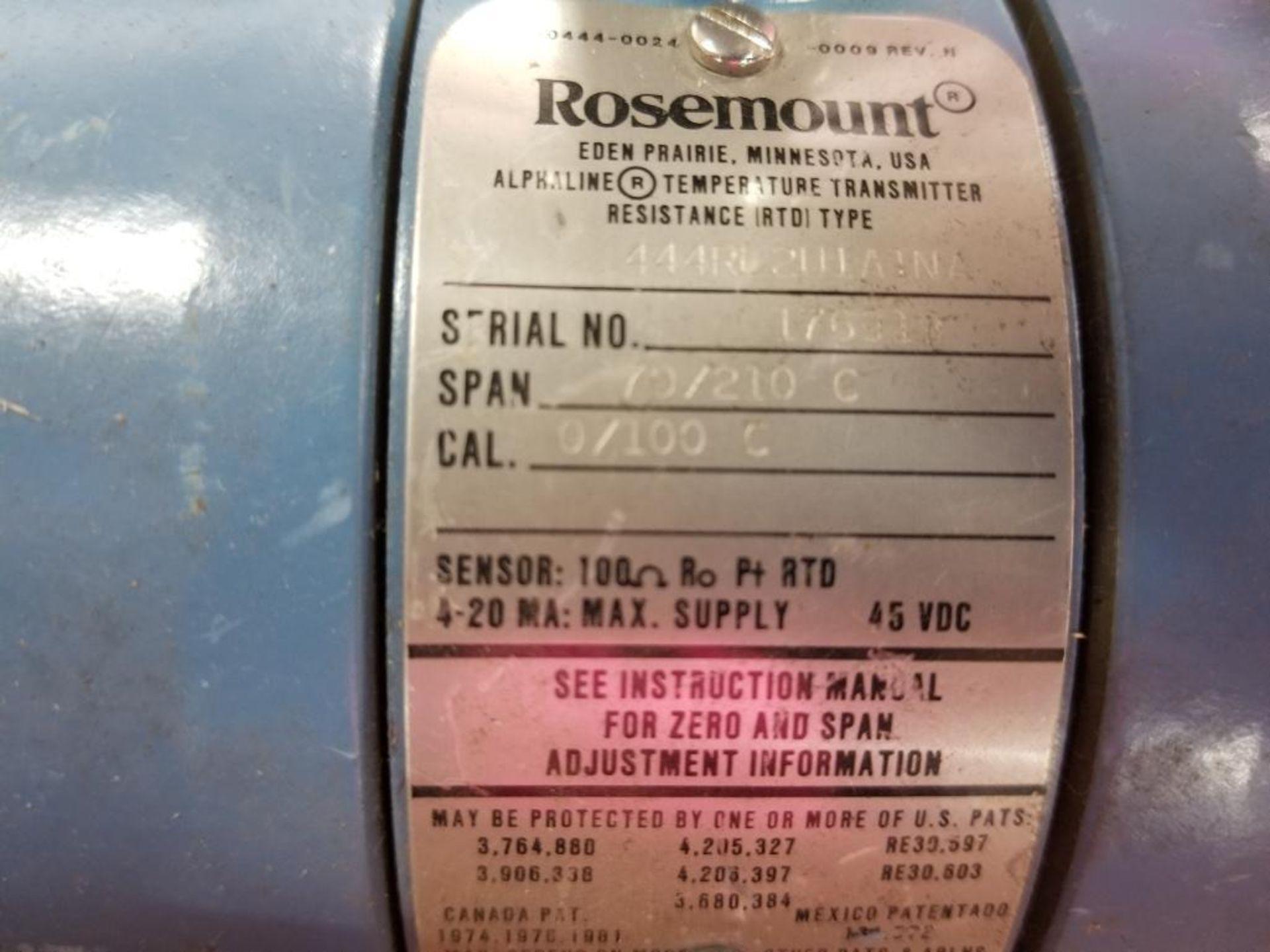 Qty 2 - Rosemount sensors. Model 444RL2U1A1NA. - Image 2 of 2