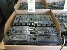 Large assortment of breakers. As pictured.