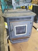 England Stove Works pellet stove room heater. Model 25-PDVC/55-SHP10.
