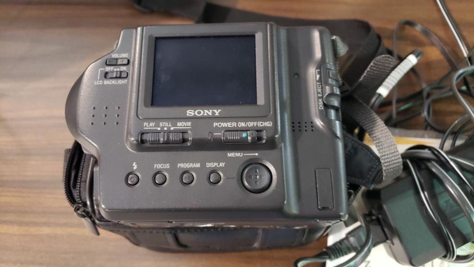 Sony Mavica digital camera. - Image 4 of 5
