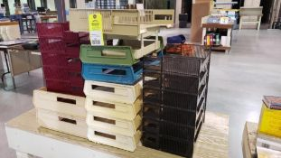 Assorted file organizers.
