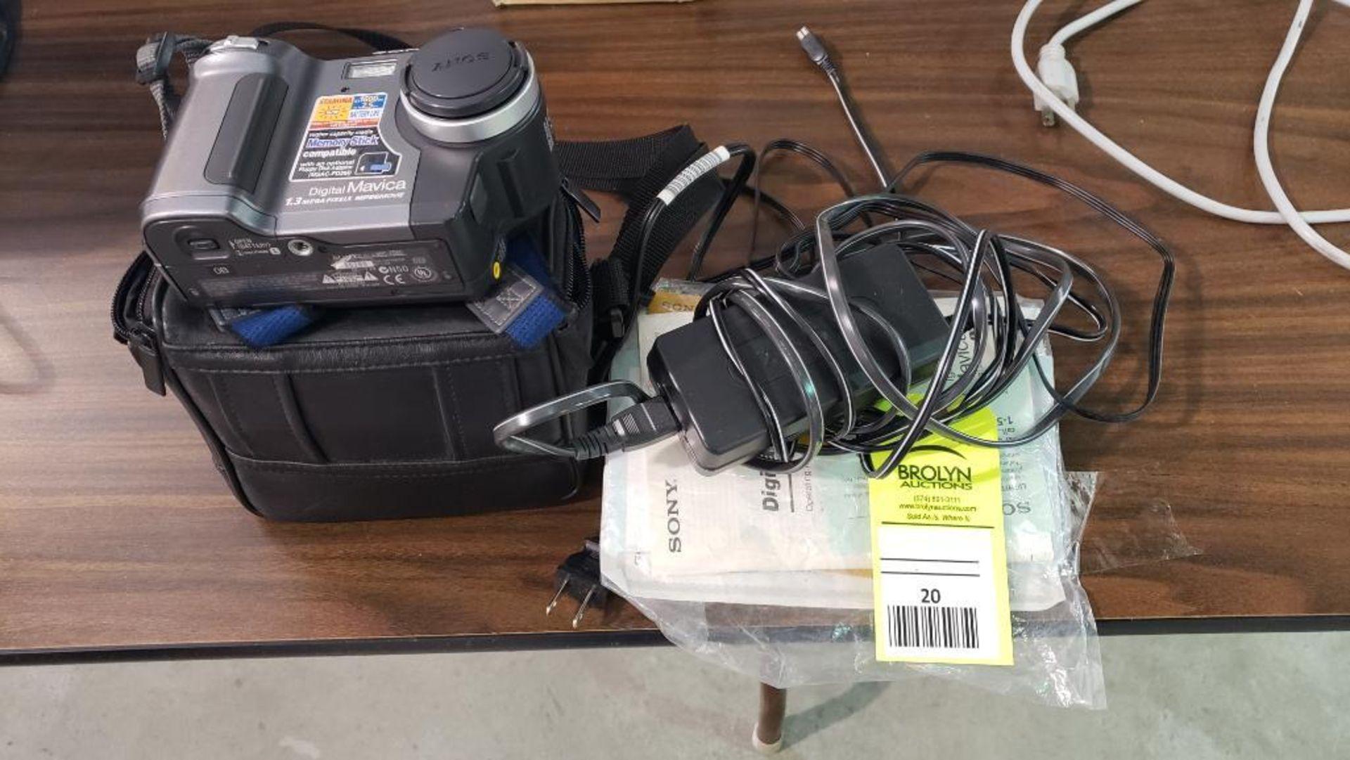 Sony Mavica digital camera.
