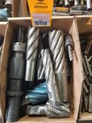 Lot of end mills.