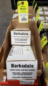 Qty 2 - Assorted Barksdale pressure switches. New in box.