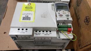 30hp ABB Baldor drive. Part number ACS355-03U-44A0-4.