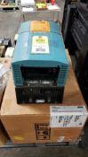 Parker DC integrator drive. Catalog 955+8R0020. Model 590P-DRV/0035/500/0011/US/ARM/0/115/0/AUX/0.