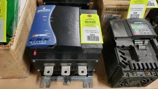 Emerson Industrial Automation CSX series soft starter. Model CSXi-110-V6-C1.