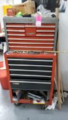 Craftsman rolling toolbox includes all contents.