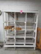 """Wooden shelf. 78x62x32""""."""