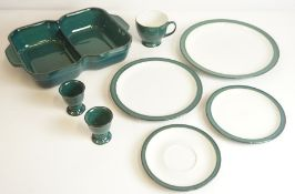 Denby Greenwich Pattern Part Dinner Set, approximately 30 pieces