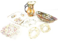 Quantity of Assorted China and Ceramics, to include examples by Maling, Masons, Poole, Hammersley,
