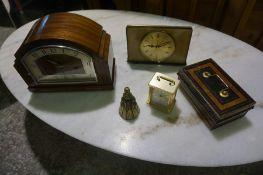 Box of Various Clocks etc