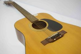 Kambara Twelve String Acoustic Guitar, Model no 72, 110cm high, with case
