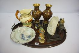 Mixed Lot of China and Collectables, to include a musical jug of John Peel by Crown Devon for