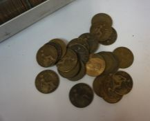 Quantity of Victorian and Later Copper Pennies