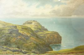 "British School ""Clowes 1924"" Pastel, 28cm x 43.5cm, framed"