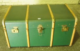 Vintage Travel Trunk, Having a fitted interior, 49cm high, 92cm wide