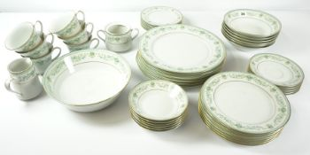 Noritake Spring Meadow Pattern Part Dinner Set, approximately 40 pieces