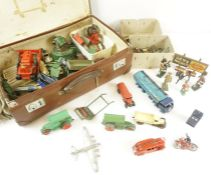 Collection of Vintage Die Cast Model Cars by Dinky, to include a Foden truck, also with a small