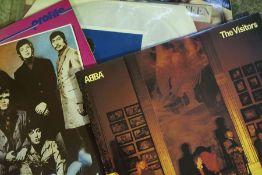 Music Memorabilia, Quantity of Pop and Rock Vinyl Records, to include Tutti Frutti by Elvis Pressley