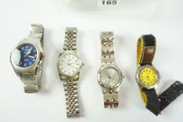 Quantity of Mens Quartz Wristwatches, to include examples by Zurich Sport, Zeon etc, (7)