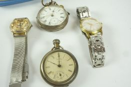 Quantity of Mens Automatic and Mecanical Wristwatches, to include examples by Excalibur, Lectro,