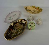 Mixed Lot of Carlton Ware China, to include a Rouge Royale dish, (11)