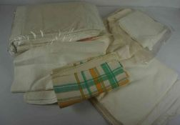 Two Boxes of Napery and Linen
