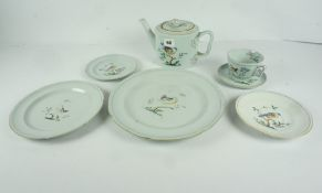 "Spode ""Queens Bird"" Pattern Dinner / Breakfast Set, Approximately 85 pieces"