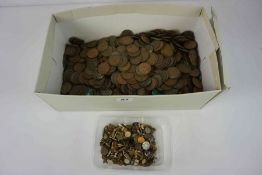 Large Quantity of Pre-Decimal Coinage, to include Edward VI, 1930s, 1950s examples