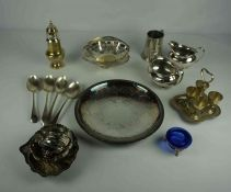 Box of Silver Plated Wares