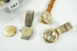 Quantity of Mens Automatic and Mechanical Wristwatches, to include examples by Montine, Ingersoll,