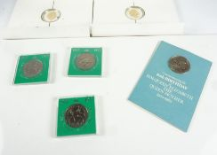 Quantity of Silver Proof and Commemorative Coins, to include three boxed 1951 Festival of Britain