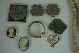 Two Boxes of Costume Jewellery,