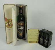 Glenfiddich Pure Malt Scotch Whisky, 70cl, 40% vol, in a Clans of the Highlands of Scotland outer